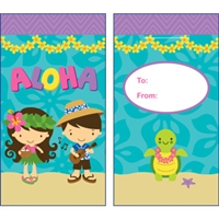 Aloha Cuties Glitter Lucky Money Envelopes