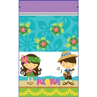 Aloha Cuties Large Stand Up Zipper Pouch - Bulk 100-count