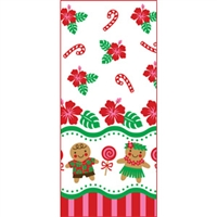 Gingerbread Hula Treat Bags - Small