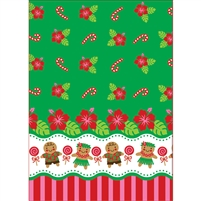 Gingerbread Hula Wiki Wrap - Bulk 100-count