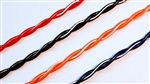 UL1422 Kynar 28 AWG Solid Conductor Twisted Pair Wire. Pick Your Combos! 1000' Spool. Series# KYNAR28-XXTP2-1000