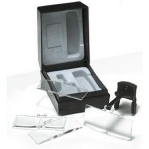 Clip-On Spectacle Magnifiers Black (U91171)