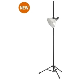 Clip-On Studio Lamp & Stand AluminumBlack by The Daylight Company (U31175)