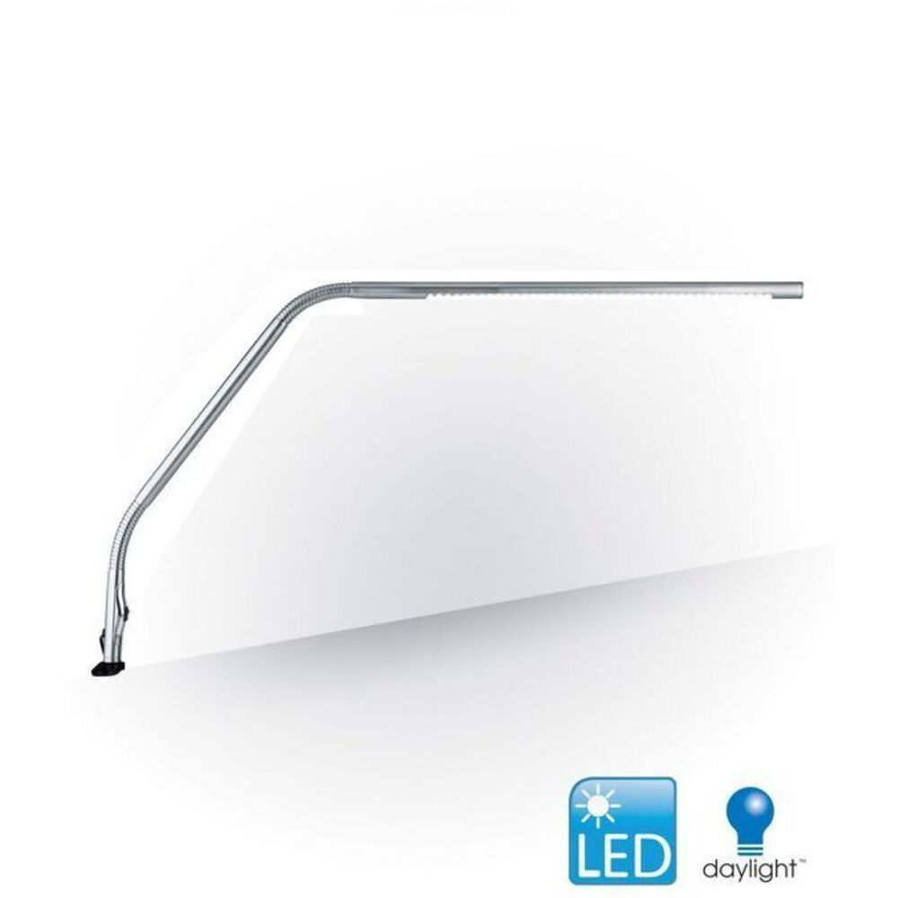 Led Slimline Table Lamp Chrome By The Daylight Company