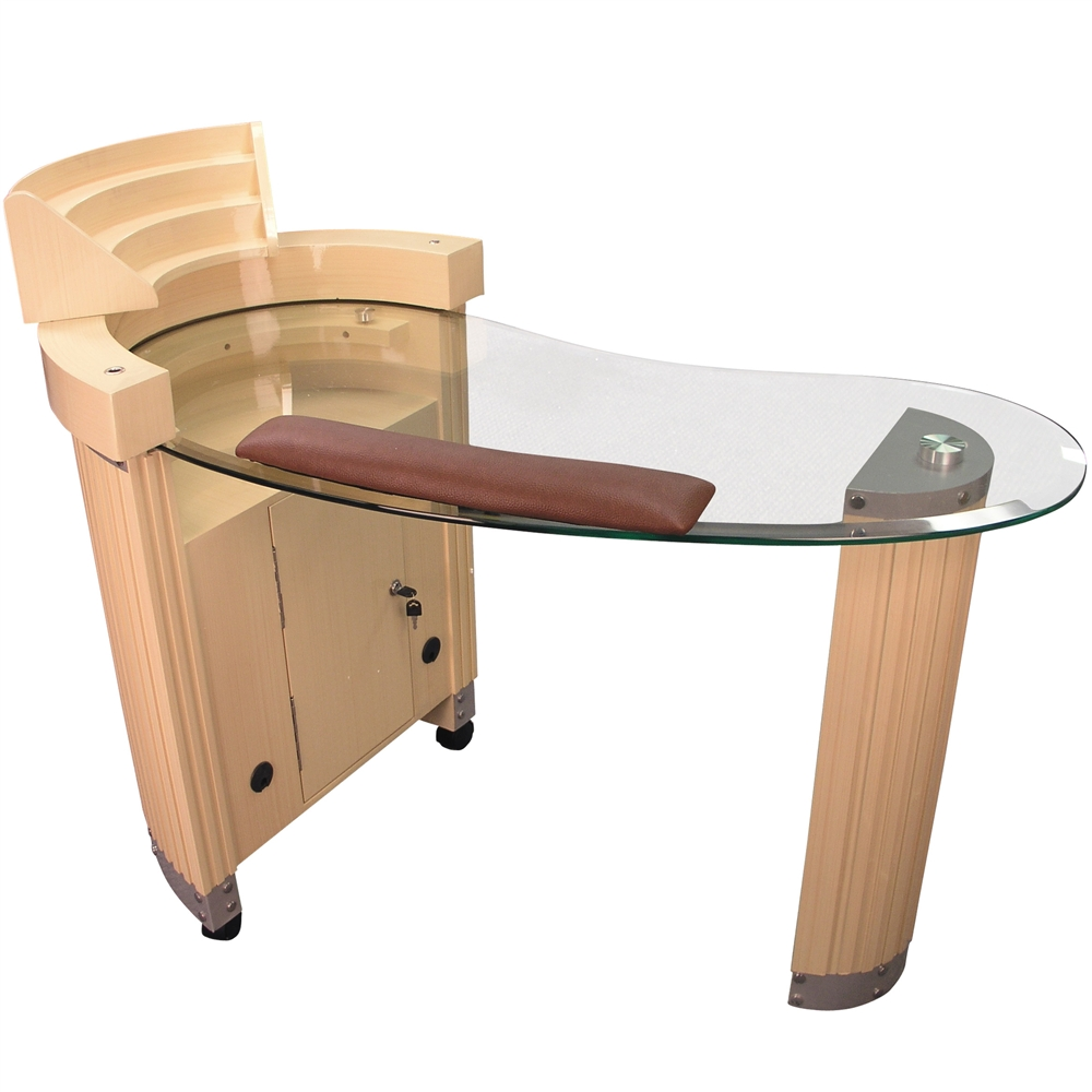 awesome L Shaped Manicure Table Part - 15: Pure Spa Direct