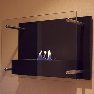 Wall Mounted Radia Ethanol Fireplace by Nu-Flame (NF-W4RAA)
