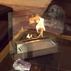 Tabletop Irradia Ethanol Fireplace by Nu-Flame (NF-T2IRA)