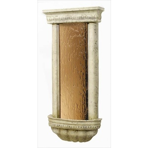 "Bellezza Series Weathered Fountain 45"" x 20.75"" by BluWorld of Water (BZBAW)"