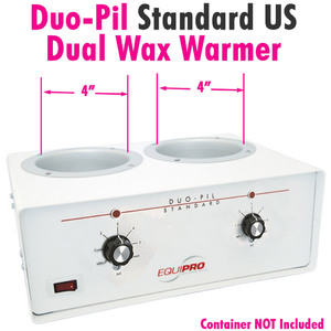 Duo-Pil Standard Dual Wax Warmer by Equipro (41201US)