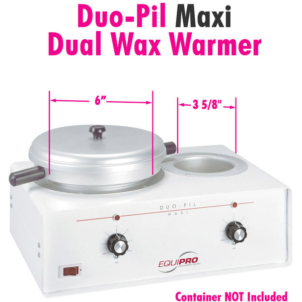 Duo-Pil Maxi Dual Wax Warmer by Equipro (41200)
