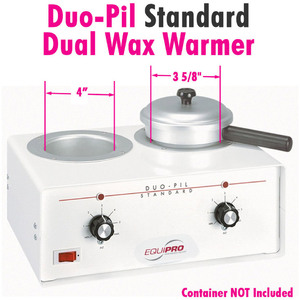 Duo-Pil Standard Dual Wax Warmer by Equipro (41201)