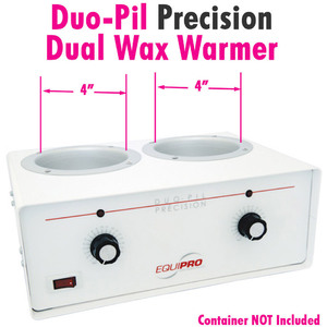 Duo-Pil Precision Dual Wax Warmer by Equipro 41202US