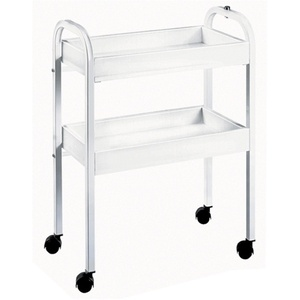 2 Shelf Safety Rim Trolley by Equipro (51300)