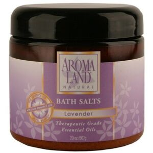 Bath Salts - Lavender 20 oz. 6 Pack - Gifts Wedding Favors Retail (7416BSL-6)