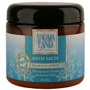 Bath Salts - Rosemary & Mint 20 oz. 6 Pack - Gifts Wedding Favors Retail (7416BSR-6)