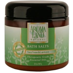 Bath Salts - Tea Tree & Lemon 20 oz. 6 Pack - Gifts Wedding Favors Retail (7416BST-6)