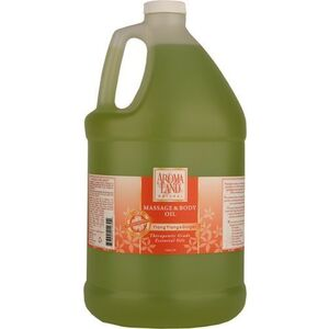 Massage & Body Oil - Ylang Ylang & Ginger 1 Gallon (741GMOY)