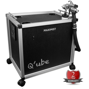 MaxiMist Q'ube - Spa Quiet Professional HVLP Spray Tan System (QUBE)