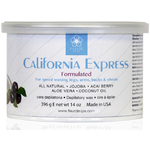 Fleur De Spa California Express - All Purpose Soft Strip SPEED Wax - 14 oz. Can Box of 8 Cans (F4500 X 8)