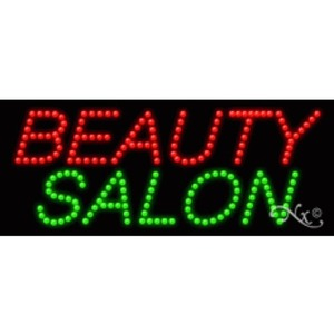 "LED Sign - Beauty Salon 11""H x 27""W x 1""D (20020)"