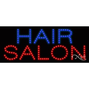 "LED Sign - Hair Salon 11""H x 27""W x 1""D (20073)"