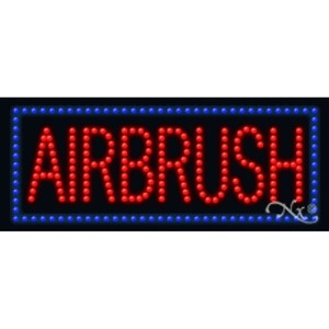 "LED Sign - Airbrush 11""H x 27""W x 1""D (20342)"