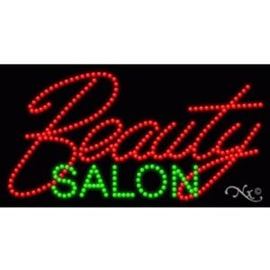"LED Sign - Beauty Salon 17""H x 32""W x 1""D (20354)"
