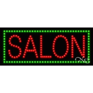 "LED Sign - Salon 11""H x 27""W x 1""D (20370)"