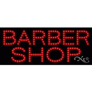 "LED Sign - Barber Shop 11""H x 27""W x 1""D (20381)"