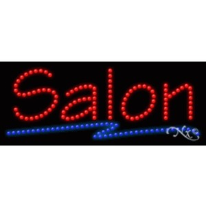 "LED Sign - Salon 11""H x 27""W x 1""D (20402)"