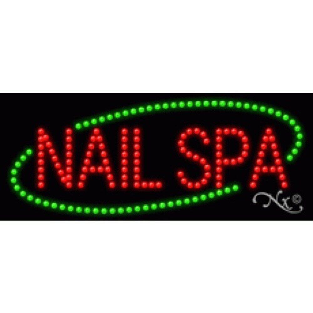 LED Sign - Nail Spa 11\