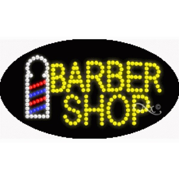 "LED Sign - Barber Shop 15""H x 27""W x 1""D (24150)"