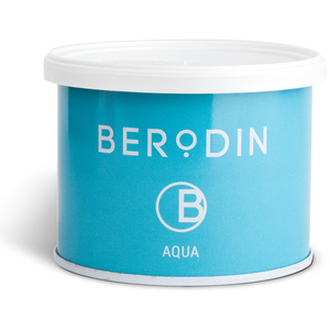 BERODIN AQUAMARINE TIN - Clear Soft Strip Wax 400 Gram - 14.1 oz. Tin (30-1001)