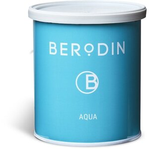 BERODIN AQUAMARINE TIN - Clear Soft Strip Wax 800 Grams - 28.2 oz. Tin (30-2001)