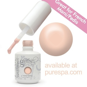 Gelish Color Coat: Simpler Sheer 0.5oz. - 15mL. - Gelish Soak Off Gel Nail Polish (01324)