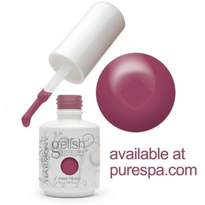 Gelish Color Coat: Exhale 0.5oz. - 15mL. - Gelish Soak Off Gel Nail Polish (01330)