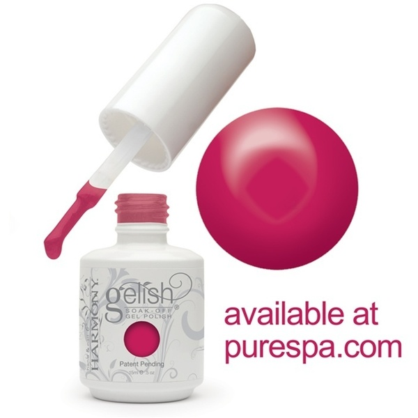 Gelish Color Coat: Gossip Girl 0.5oz. - 15mL. - Gelish Soak Off Gel Nail Polish (01332)
