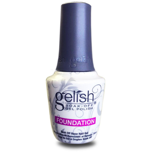 Gelish Base Coat: FOUNDATION Base Gel 0.5oz. - 15mL. (19-4010)