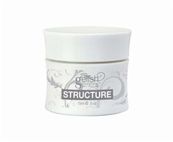 Gelish Strengthener for Weak Nails: STRUCTURE Clear Gel 0.5oz. - 15mL. (19-4014)