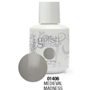 Gelish Color Coat: Medieval Madness / 0.5 oz. - 15 mL. - Gelish Soak Off Gel Nail Polish by Nail Harmony <font color=#FFFFFF>(01406)</font>