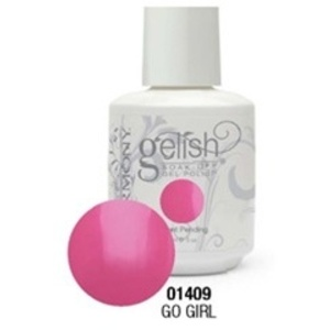 Gelish Color Coat: Go Girl / 0.5 oz. - 15 mL. - Gelish Soak Off Gel Nail Polish by Nail Harmony <font color=#FFFFFF>(01409)</font>