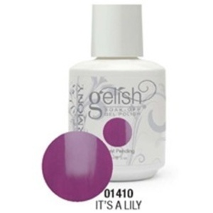 Gelish Color Coat: It's A Lily / 0.5 oz. - 15 mL. - Gelish Soak Off Gel Nail Polish by Nail Harmony <font color=#FFFFFF>(01410)</font>