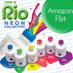 IN STOCK! Amazon Flirt / 0.5 oz. - 15 mL. - Living in Rio Neon Collection - Gelish Soak Off Gel Nail Polish by Nail Harmony