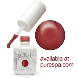 Just In Case Tomorrow Never Comes - 15 mL. - Gelish Winter Reds - Gelish Soak Off Gel Nail Polish by Nail Harmony