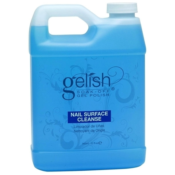 Gelish CLEANSER / 32oz. - 960mL. by Nail Harmony (01249)