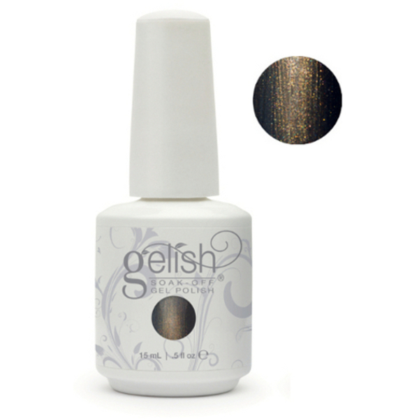 Gelish Color Coat: Welcome To The Masquerade 0.5oz. - 15mL. - Gelish Soak Off Gel Nail Polish by Nail Harmony (#01424)