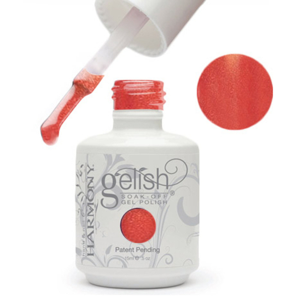 Gelish Color Coat: Sunrise And The City 0.5oz. - 15mL. - Gelish Soak Off Gel Nail Polish by Nail Harmony (#01431)