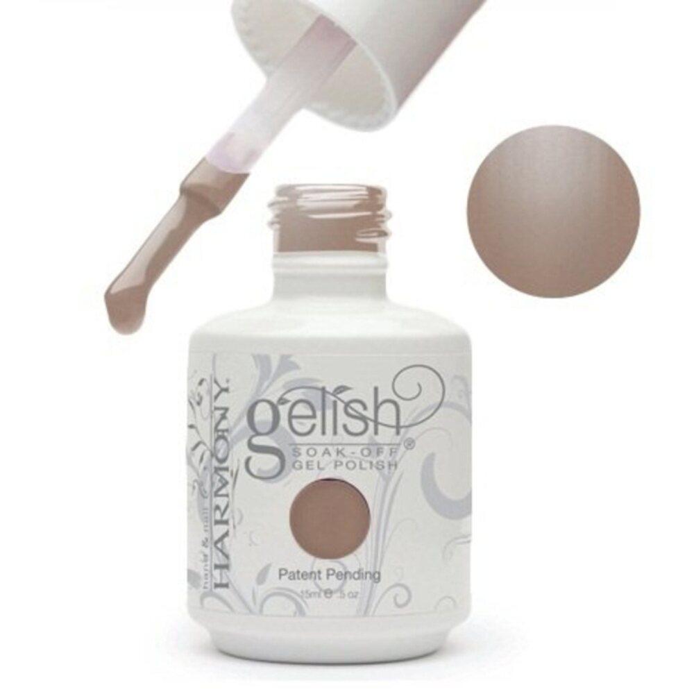 Gelish Color Coat 58 Taupe Model 0 5oz 15ml Soak Off Gel Nail Polish By