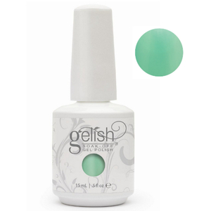 Gelish Color Coat: A Mint Of Spring 0.5oz. - 15mL. - Gelish Soak Off Gel Nail Polish by Nail Harmony (#01467)