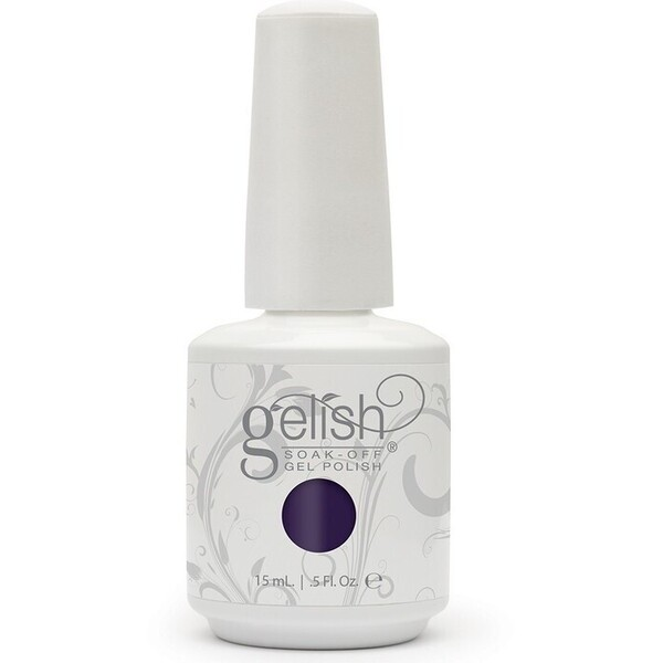 Gelish Color Coat: Love Me Like A Vamp 0.5oz. - 15mL. - Gelish Soak Off Gel Nail Polish by Nail Harmony (#01578)